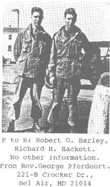 Barley 254th Infantry