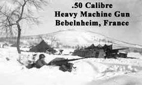 50 Cal Machine Gun position