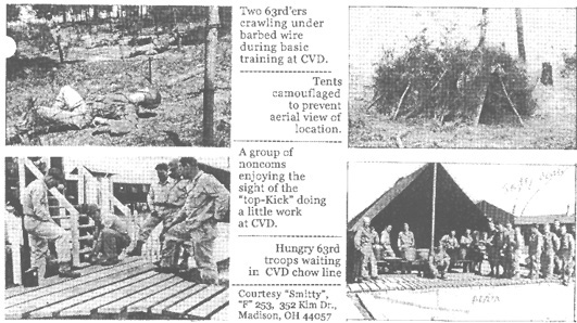 253rd Infantry photos Camp Van Dorn-44