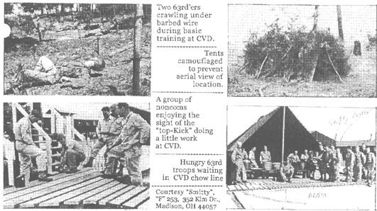 253rd Infantry photos Camp Van Dorn-44