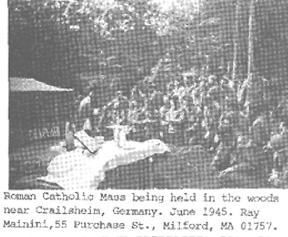 63d soldiers attending Mass