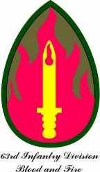 63rd Infantry Division Patch