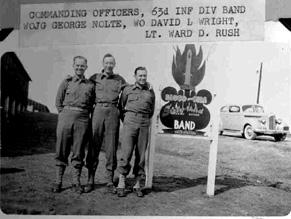 Soldiers 63d Div Band Cp Van Dorn, MS