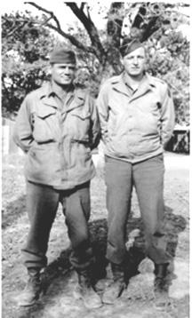 John Vitello and buddy G/254th