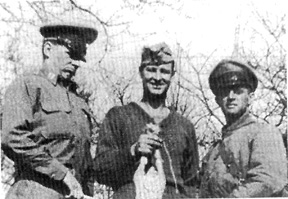3d Bn 255th officers in Germany 1945