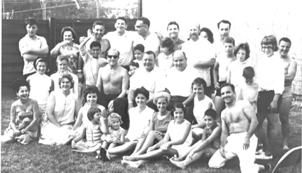 The WWII cast of Carmen at the 1985 Reunion