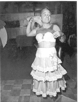 Sweet Sue getting ready for 1985 production of Carmen