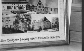 Old Painting of Hartungshof, Germany