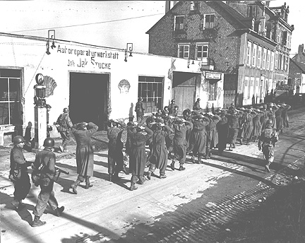 German prisoners in Sarreguemines