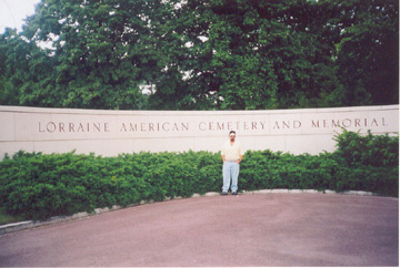 American cemetery at Lorraine France