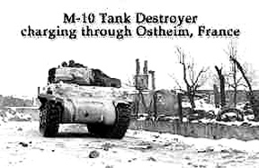Tank Destroyer Ostheim, France