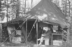 1st Bn 254th Inf Bivouac Area