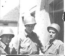 A Co 254th Infantry officers
