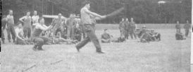 Baseball game 254th Infantry