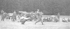 Baseball game 254th Infantry