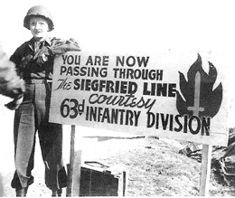 Marlene Dietrich at Siegfried Line Mar 45