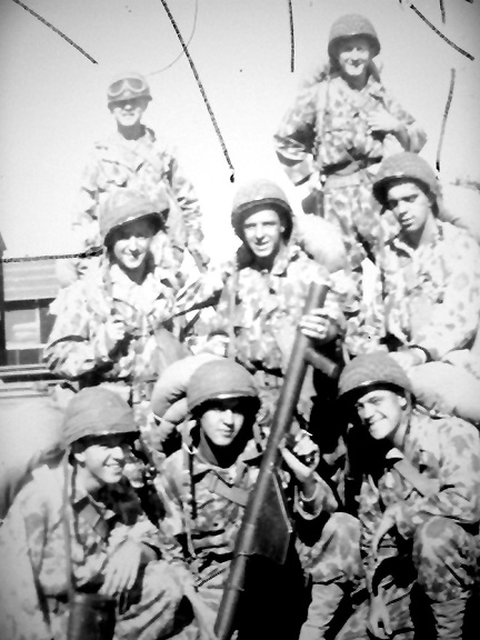 Members of M Co 254th Inf Regt, Cp Van Dorn, MS 1944