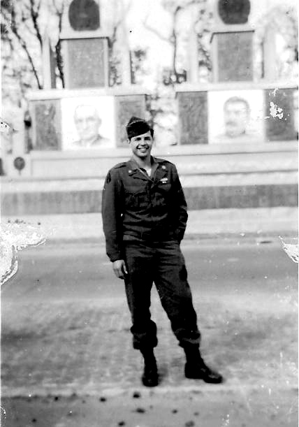 Pfc Goldberg, 253 Inf Regt in Berlin - Carmen Soldier show