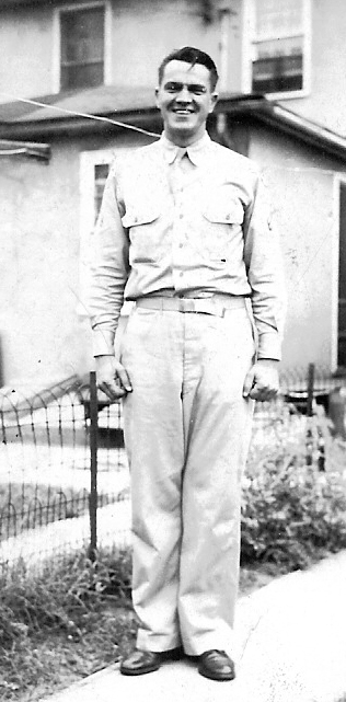 Pfc Keller, !/254th Inf Regt- 1944