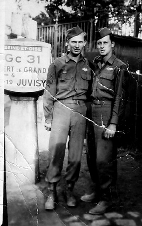 D/254th Inf Regt, France 1945