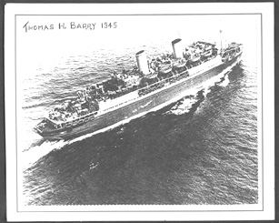 Troop Ship Thomas Barry