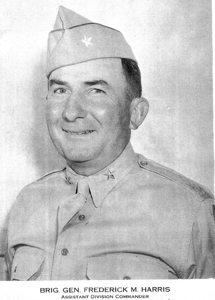 BG Harris, ADC 63rd Inf Div, Cp Van Dorn 1944