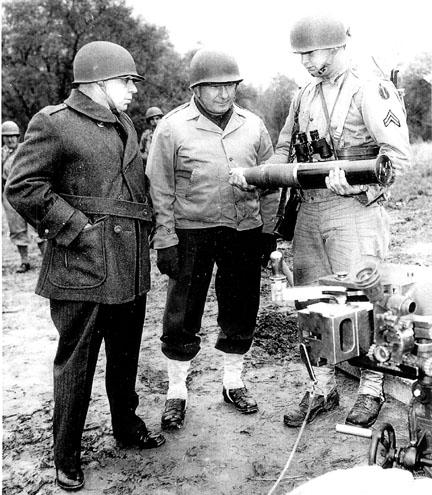 Field visit, Camp Van Dorn, MS 1944