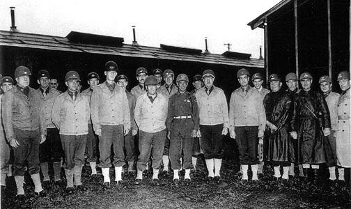 63rd Inf Div Officers Cp Van Dorn, MS 1944