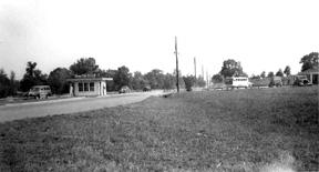 Main Gate area Cp Van Dorn MS 1943