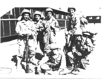 Fligger, Huey, Rand and Miller A/254th Inf