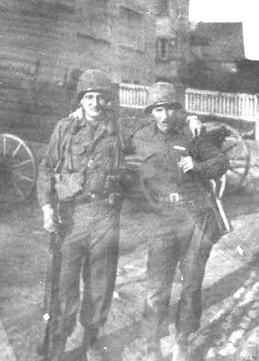 Burney and Ekberg A/254th Inf