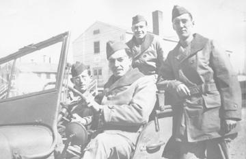 Soldiers, 563d Sig Co Cp Van Dorn MS 1944