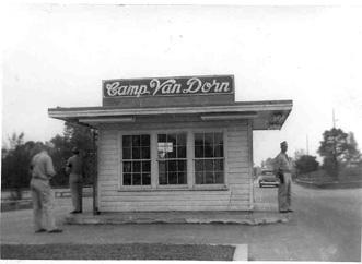 Main Gate Cp Van Dorn, MS 1943