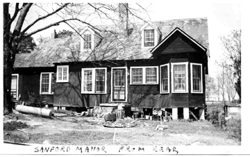 Living accommodations, Cp Van Dorn, MS 1943