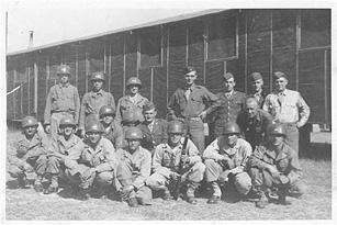 1st Platoon, A Company 253d Infantry at Camp 'Van Dorn