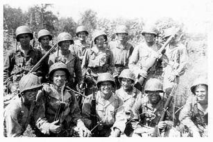 A/253d Inf NCO's Cp Van Dorn 44