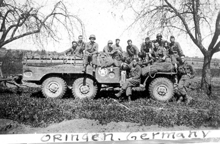 253d Infantry troops