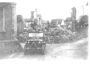 253d Jeep in Stein, Germany Apr 45