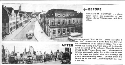 Crailsheim Germany before and after WWII