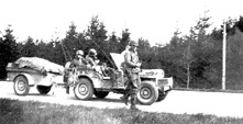 253d Infantry Jeep