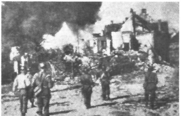 63rd Reconnaissance group in Gudingen
