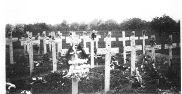 Temporary cemetery for dead of Battle of Jebsheim