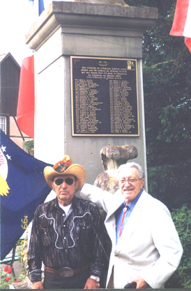 Phil Milano and  Angelo Christopher at Jebsheim Ceremony