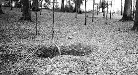 German machine gun nest Kocher River area
