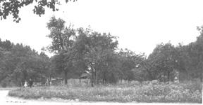 Destroyed Chateau near Kocher bridgehead