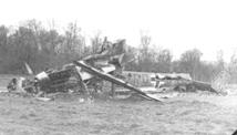 German bomber shot down in Bavaria Apr 45