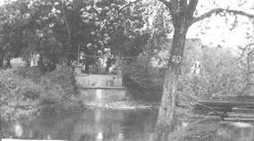Kocher River crossing