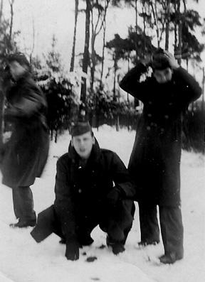 D /254th Inf Regt veterans in Berlin- 1945