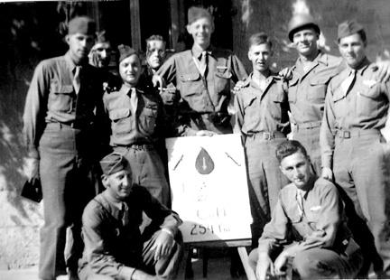D/254th veterans in Berlin 1945