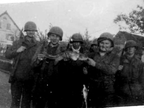 G/253d Inf Regt, Germany 1945